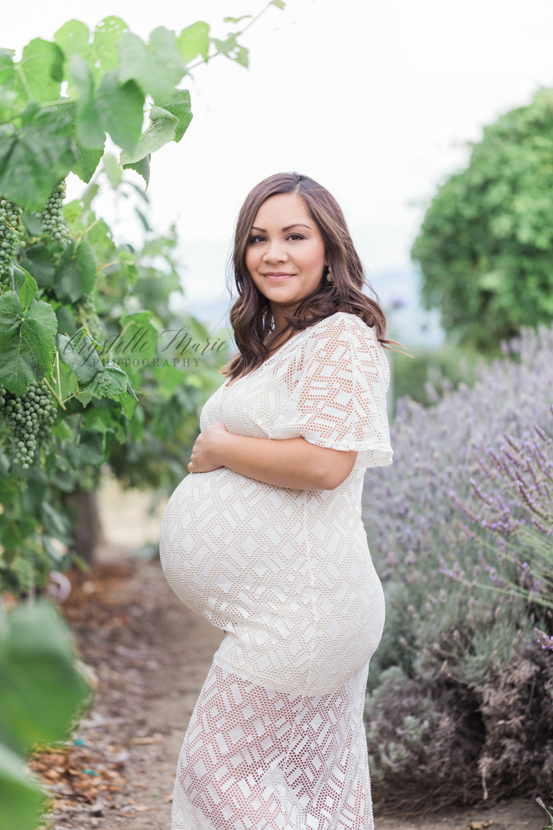 maternity session vineyard southern oregon