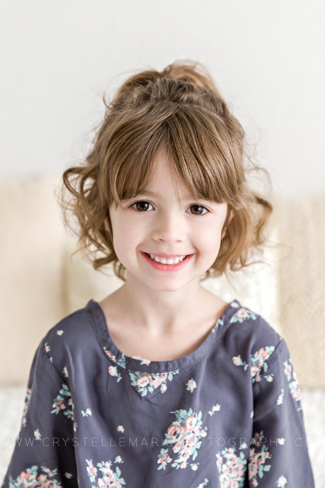 child portrait indoor studio session medford oregon photographer