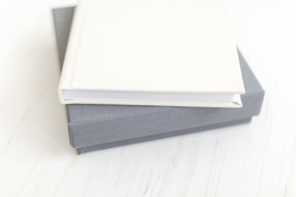 miller's signature thick page album with leather cover and case